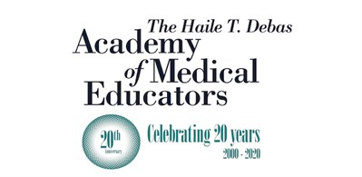 Haile T Debas Academy Of Medical Educators1 USE Amebluelogo Date